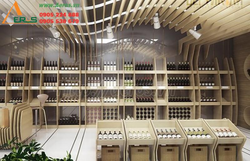 Thiết kế showroom rượu được các nhà sưu tập thích thú