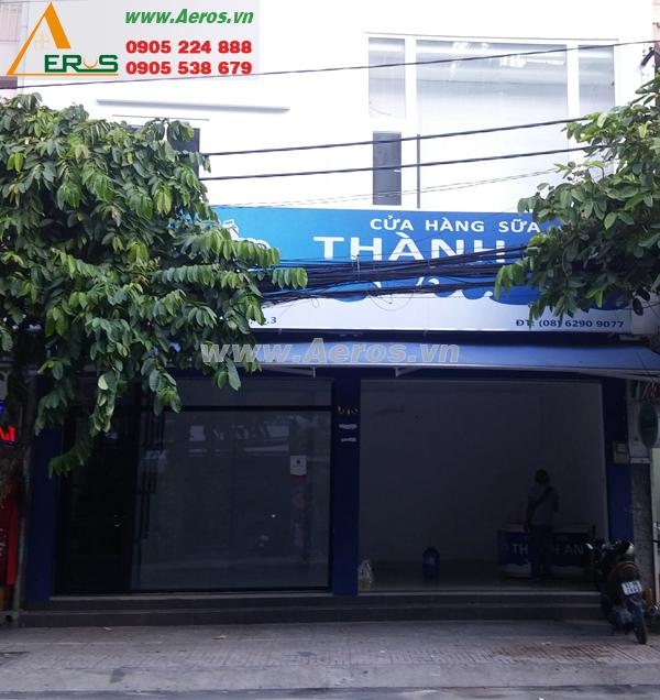 Hình ảnh hiện trạng quán trà sữa anh Huy tại quận 3, TPHCM