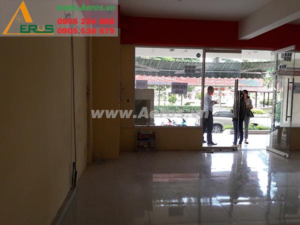Hiện trạng mặt bằng cần thiết kế nội thất quán trà sữa, chị Hòa, quận 7, TP. HCM