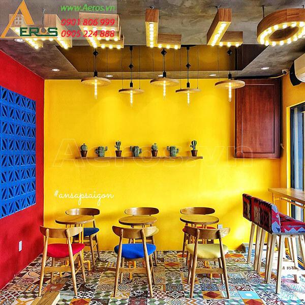 Thiết kế quán trà sữa Katus tại Thủ Đức của chị Hương