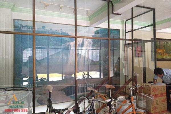 hiện trạng mặt bằng quán trà sữa đẹp nhẹ nhàng của chị Thanh ở Đồng Nai