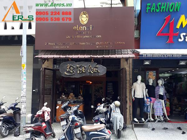 Thiết kế quán trà sữa anh Đạt tại quận Phú Nhuận