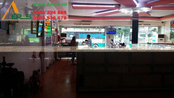 Hiện trạng cần thiết kjế quán trà sữa chị Tuyết tại Củ Chi