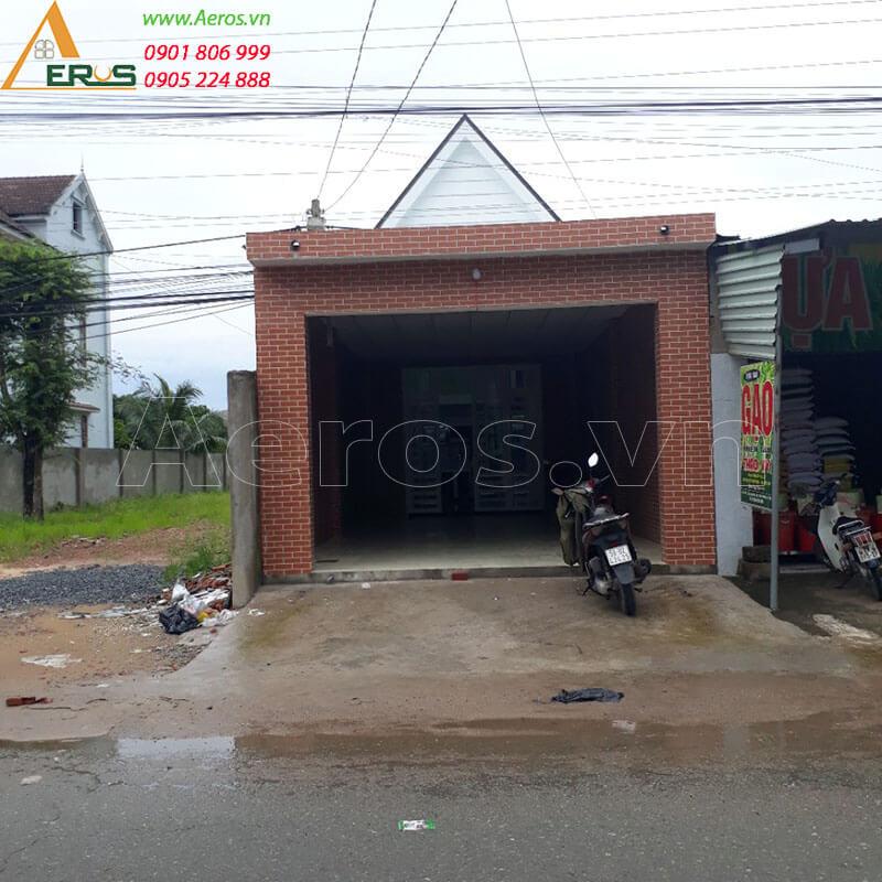 Hình ảnh hiện trạng cần thiết kế thi công quán trà sữa my cha tại Long Khánh, Đồng Nai