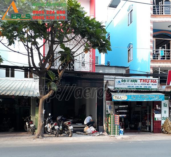 Hình ảnh trước khi thiết kế thi công quán trà sữa ROYALTEA quận 8, TPHCM