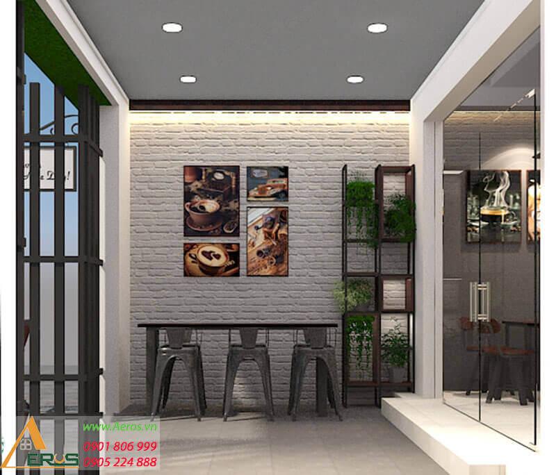 Thiết kế quán trà sữa Kino tại quận 9