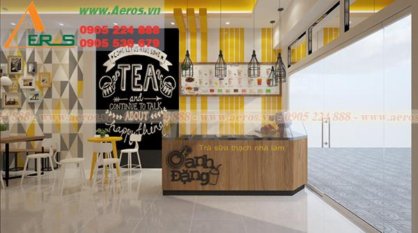 Hình ảnh thiết kế quán trà sữa Oanh Đặng tại Vũng Tàu