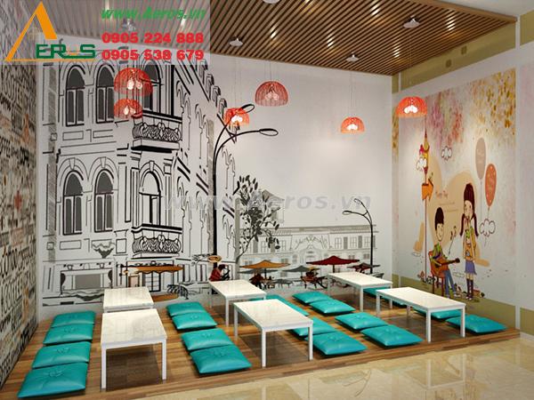 Thiết kế quán trà sữa chị Thảo, quận Gò Vấp, TP. HCM