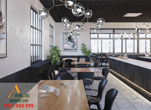 Không gian của quán luôn hướng tới việc tạo sự thoải mái cho khách hàng