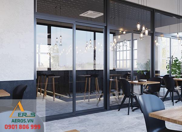 Không gian của quán luôn được tối ưu làm nổi bật phong cách thiết kế hiện đại của quán
