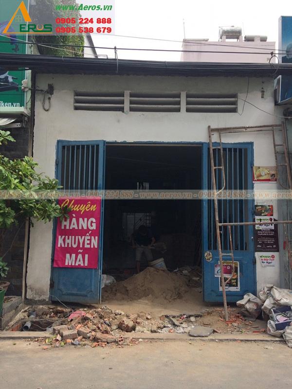 Thiết Kế Thi Công Quán Trà Sữa Chị Hà, Quận Gò Vấp, TPHCM