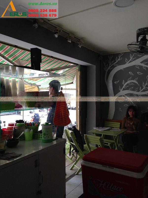 Hình ảnh hiện trạng quán trà sữa chị Hương tại quận 7, TPHCM