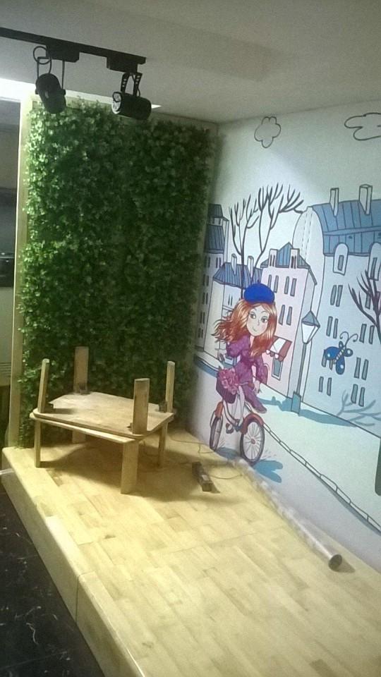 Hinh ảnh thiết kế thi công quán trà sữa chị Mai ở quận 6, TPHCM