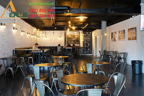 Thiết kế quán trà sữa Chatime quận 1 của anh Hưng