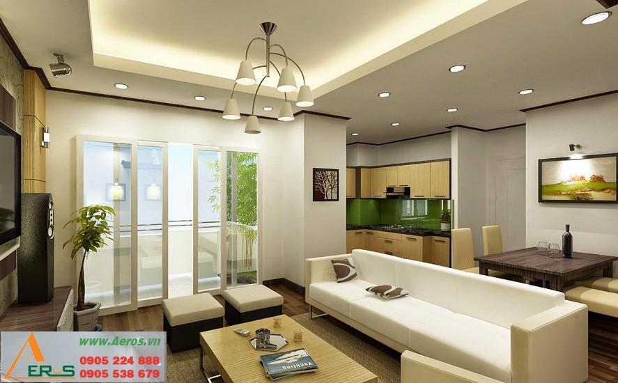 Thiết kế nội thất chung cư mini theo phong cách Hiện đại