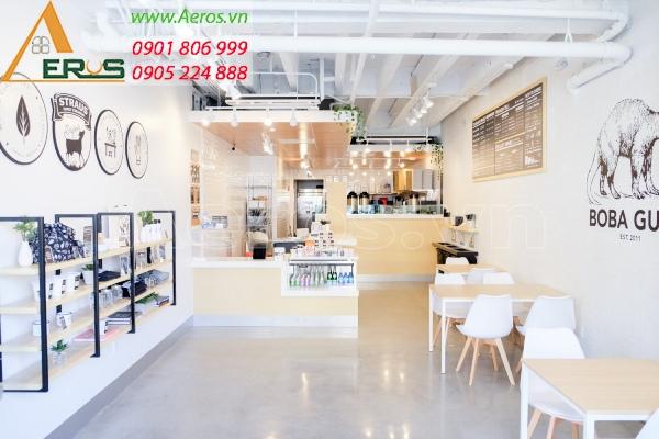 kinh doanh quán trà sữa