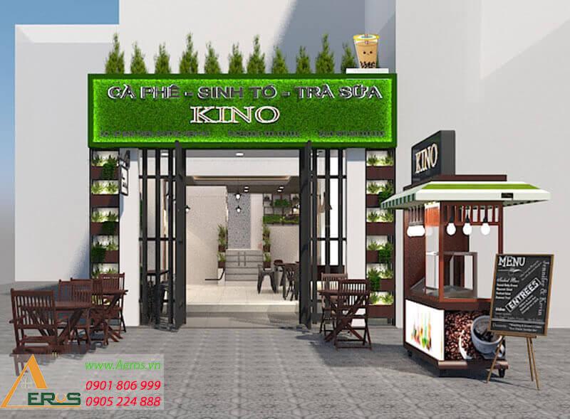 thiết kế quán trà sữa Kino