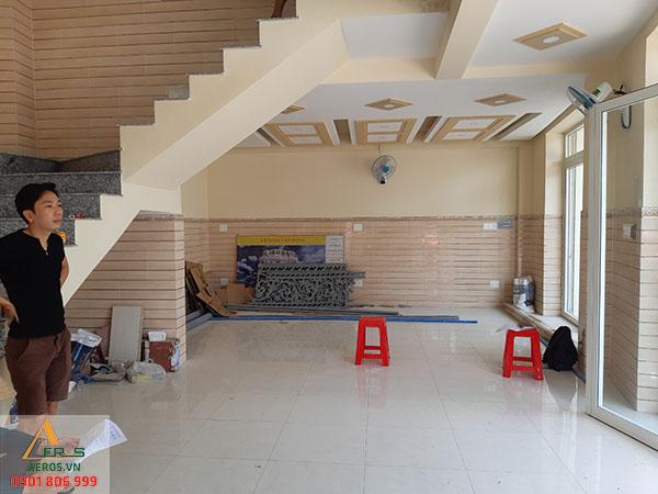 Thiết kế quán trà sữa 2 tầng của anh Điệp tại Bình Dương - King Tea