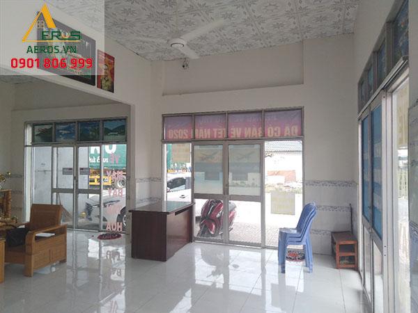 Hiện trạng thiết kế quán trà sữa 50m2 của anh Trung tại Dĩ An Bình Dương - Ben Tea